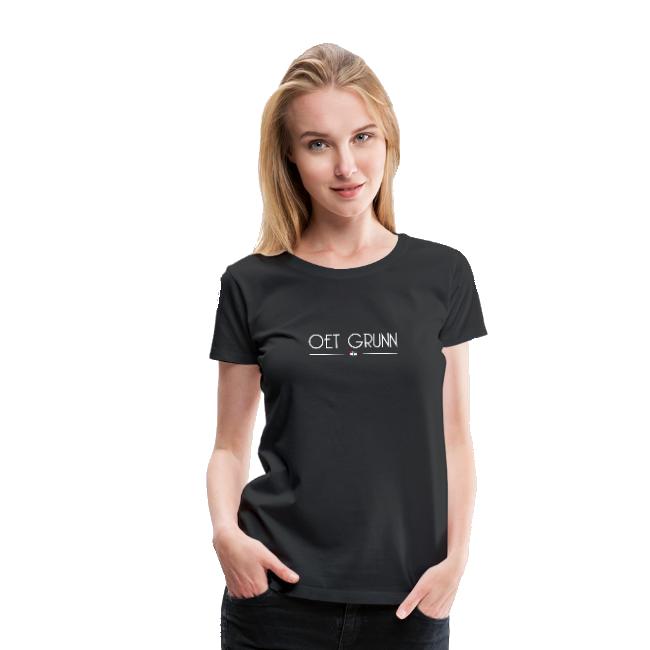 Oet Grunn shirt Dames van GroningerPlaza