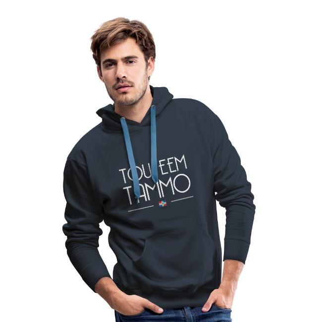 blauwe tou eem tammo hoodie mannen Groningse Webshop GroningerPlaza