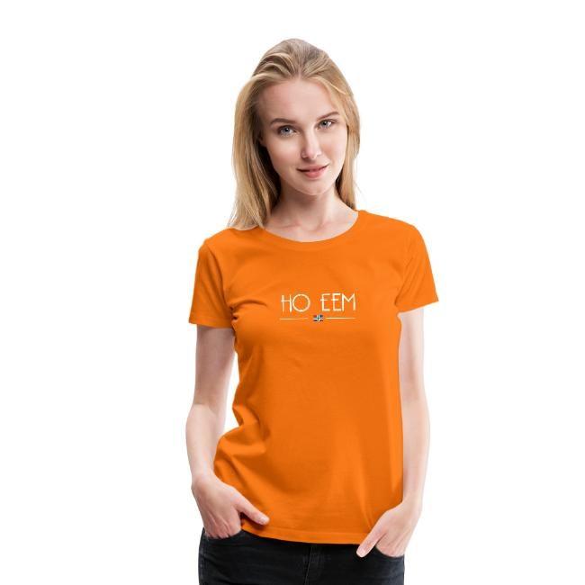Oranje boven ho eem t-shirt voor dames van GroningerPlaza