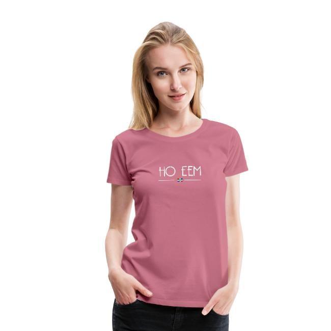 roze ho eem t-shirt vrouwen GroningerPlaza