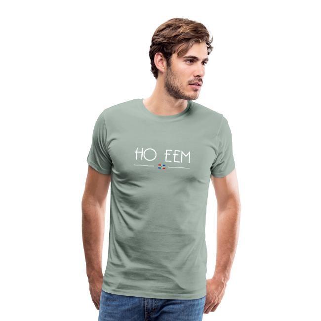 Ho eem tshirt mannen Groningse webshop GroningerPlaza