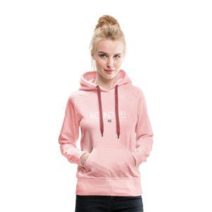 kounavvel hoodie groningen groningerplaza roze dames