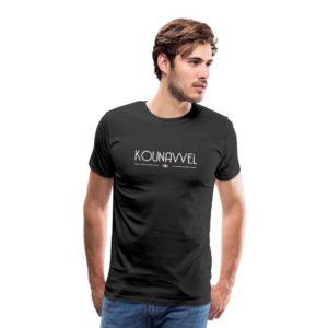 kounavvel t-shirt groningen groningerplaza zwart