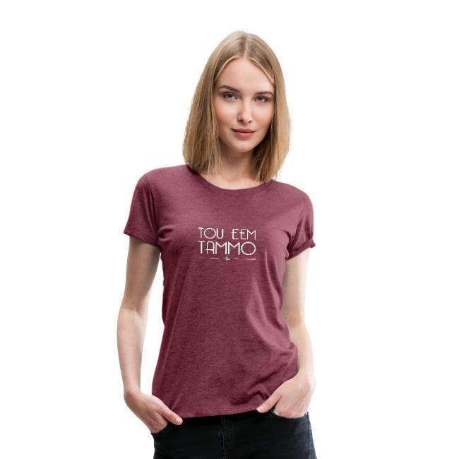 rood gemeleerd t-shirt dames groningerplaza