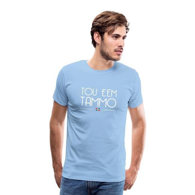 tou eem tammo t-shirt groningerplaza babyblauw