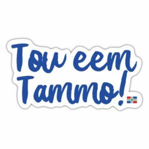 tou eem tammo sticker